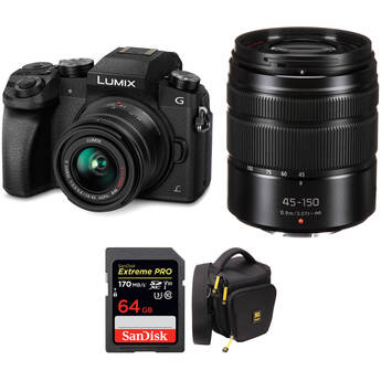 Panasonic Lumix Mirrorless Camera Bundle