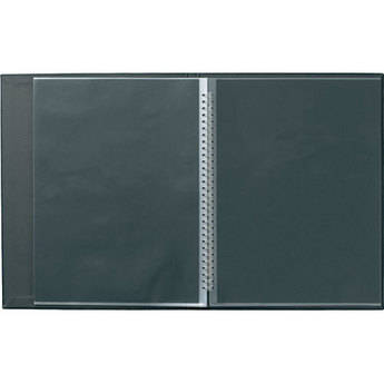 "Prat Modebook 149 Spiral Book (8.5 x 11"", Vertical, Black)"