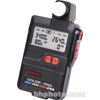 Gossen Color-Pro 3F - Digital Ambient Incident and Incident Flash Color Temperature Meter