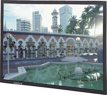 "Da-Lite 87707 Perm-Wall Fixed Frame Projection Screen (78 x 139"")"
