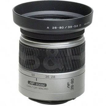 Konica Minolta Zoom Wide Angle-Telephoto AF D 28-80mm f/3.5-5.6 Autofocus Lens - Silver