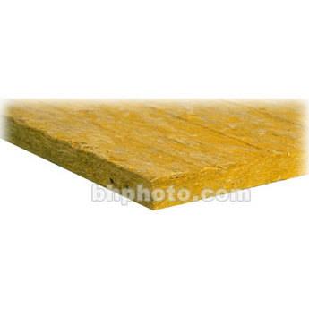 "Auralex 2"" Mineral Fiber Insulation - 24"" x 48"" x 2"" Sound Absorption and Insulation Panels - 6 Pieces"