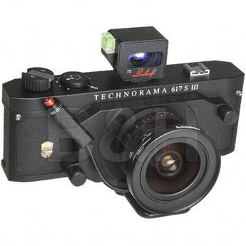 Linhof Technorama 617S III Medium Format Panorama Camera Kit with Viewfinder and Super Wide Angle 72mm f/5.6 Super Angulon XL Lens