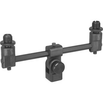 """Sabra-Som ST-2 - Universal Double Microphone T Support with 3/8"""" and 5/8"""" Threading"""