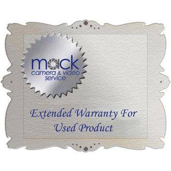 Mack 2-Year Extended Warranty for USED Professional Video - Valued up to $5000