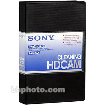 Sony BCT-HD12CL HDCAM Cleaning Cassette - for Sony HDCAM Camcorders and Equipment