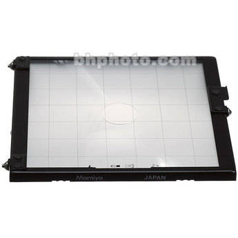 """Mamiya Focusing Screen Type """"A4"""" Checker (with Grid Lines) for RZ67 Pro II"""