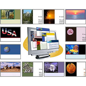 CrystalGraphics PowerPlugs: Stationery for Outlook - Video Clips 1