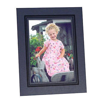"""Collector's Gallery Easel Picture Frame for 4 x 6"""" Print  with Black Border , Model PF5950-46 - 25 Frames"""