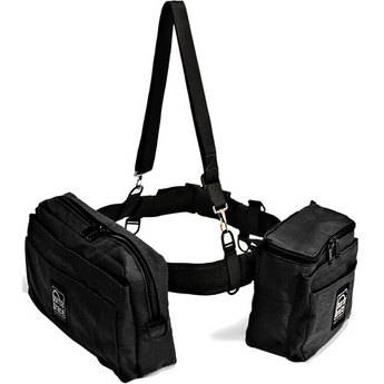 PortaBrace BP-2 Waist Belt Production Pack - for Camcorder Batteries, Tapes and Accessories (Black)