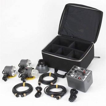 Dynalite M213W-PS 2000 Watt/Second Three Head Kit (120VAC)