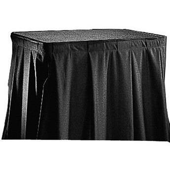 Da-Lite 69834 Poly-Sheen Skirting for the Project-O-Stand (Black)