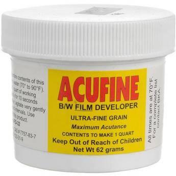 Acufine Acufine Developer (Powder) for Black & White Film - Makes 1 Quart