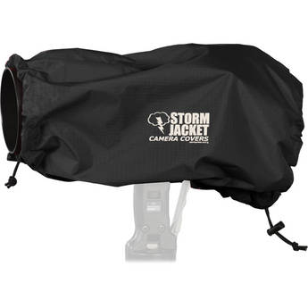 Vortex Media Pro SLR Storm Jacket Camera Cover, Large (Black)