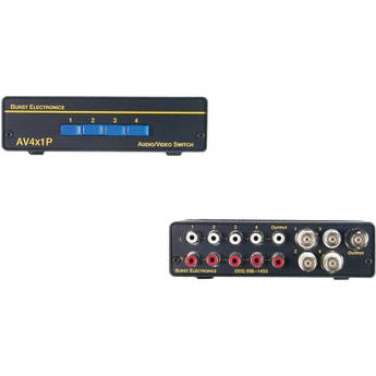 Burst Electronics AV4X1P Passive AV Switcher