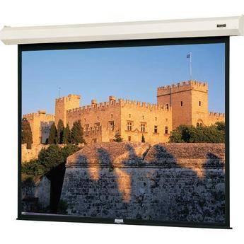 Da-Lite 40814L Cosmopolitan Electrol 10 x 10' Motorized Screen (120V)