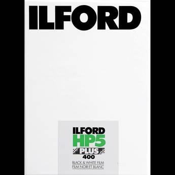 "Ilford HP5 Plus Black and White Negative Film (4 x 5"", 25 Sheets)"