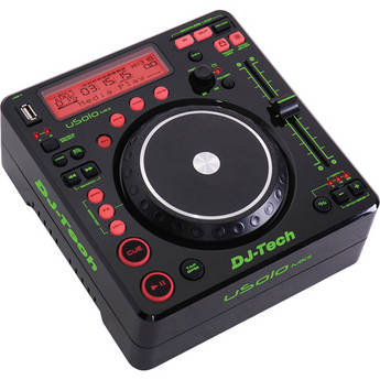 DJ-Tech U Solo MKII -  Compact Twin USB Player and Controller