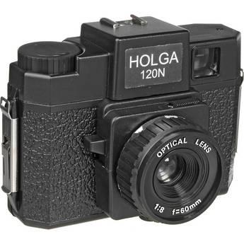Holga 120N Medium Format Film Camera (Black)