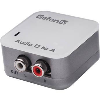Gefen EXT-DDIGAUD-2-AAUD GefenTV Digital Audio to Analog Adapter