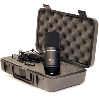 MXL 770 Multipurpose Cardioid Condenser Microphone (Black)