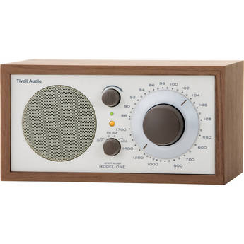 Tivoli Model One AM/FM Table Radio (Beige / Walnut)