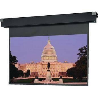 "Da-Lite 77656ES Dual Masking Electrol Motorized Projection Screen (60 x 80/111"")"