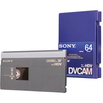 Sony PDV-64N/3 DVCAM for HDV Tape