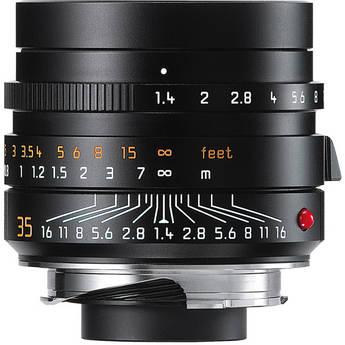 Leica Summilux-M 35mm f/1.4 ASPH. Lens (Black)