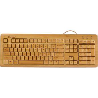 Impecca KBB500 Bamboo Custom Carved Designer Keyboard