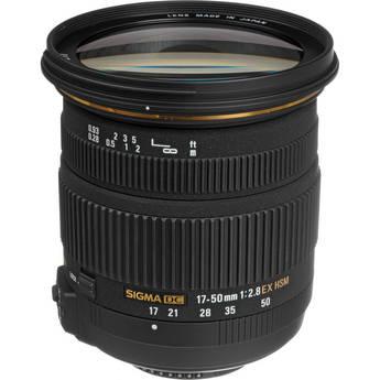 Sigma 17-50mm f/2.8 EX DC OS HSM Lens for Nikon F