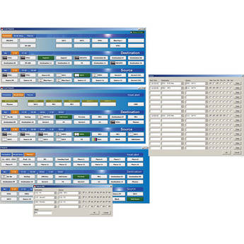 Deyan Automation Systems FlexiRoute Universal Routing Panel Software