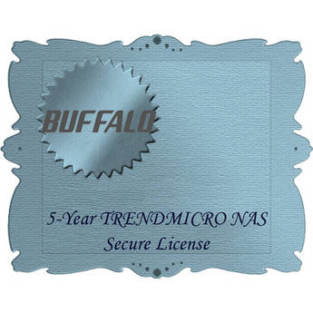 Buffalo Trend Micro NAS Security 5-Year Subscription Service for TeraStation