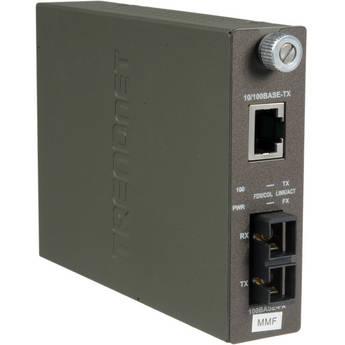 TRENDnet 100Base-TX to 100Base-FX Multi Mode SC Fiber Converter