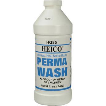 Heico Perma Wash (Liquid) for Black & White Film & Paper - 1 Quart