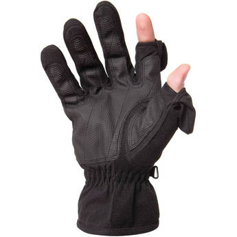 Freehands Women's Stretch Thinsulate Gloves (Large, Black)