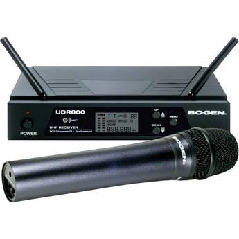 Bogen Communications UDMS800HH Handheld Wireless Microphone System