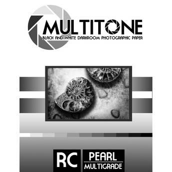 "MultiTone Black & White RC Paper (Pearl, 8 x 10"", 25 Sheets)"