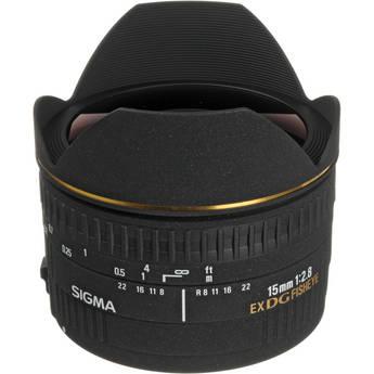 Sigma 15mm f/2.8 EX DG Diagonal Fisheye Lens for Sigma SA