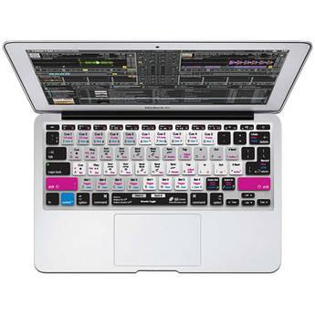 "KB Covers Traktor Pro/Kontrol S4 Keyboard Cover for MacBook Air 11"" (Unibody, Black Keys) - ISO"