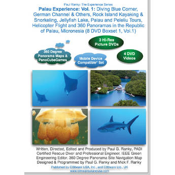 Cimware Palau Experience: Volume 1 DVD Video / Photo Boxset