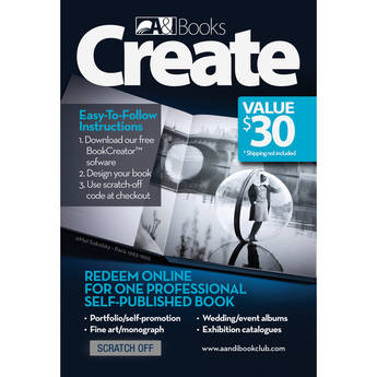 """A&I $30 Pre-Paid Card for an 8 x 8"""" Pro Book"""