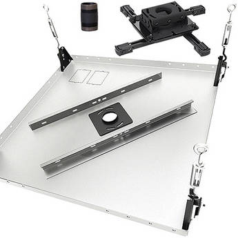 Chief Projector Mount Kit Hardware Mount White KITMS006W