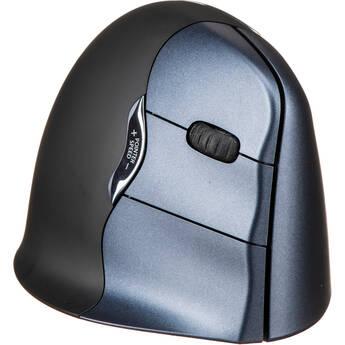 Prestige - Evoluent VerticalMouse 4 Wireless Laser Mouse - Black