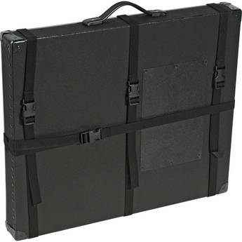 "Archival Methods 24 x 30 x 3"" Trans-Port Shipping Case (Black)"