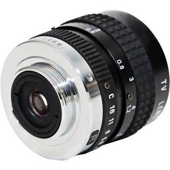 AstroScope C-Mount 25mm f1.8 Objective Lens with Iris for 9350BRAC Module