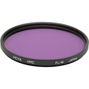 Hoya 77mm FL-W Fluorescent Hoya Multi-Coated (HMC) Glass Filter for Daylight Film