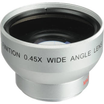Digital Concepts 0.45x Wide-Angle Lens (30mm, Silver)