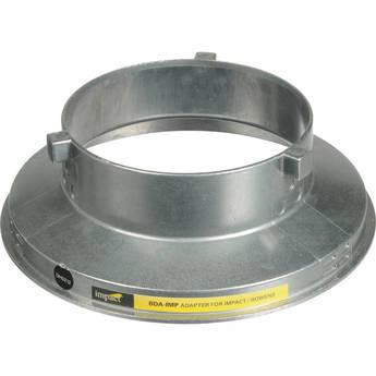 Impact Beauty Dish Adapter for Impact Monolights, Bowens, Travelite, Cowboy, Interfit Stellar, JTL, Photoflex, Rime Lite, Westcott Flash Heads