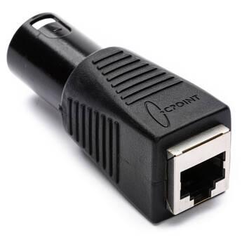 TecNec DMX-5XM-CAT5 5-pin XLR Male to RJ45 Adapter
